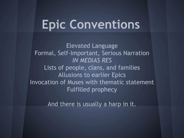 list of epic conventions